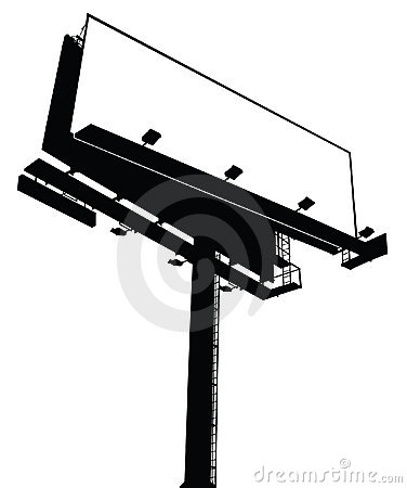 Blank Vector Billboard