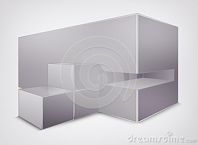 Blank vector  creativity construction.  square