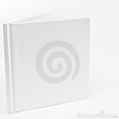 Blank White Booklet