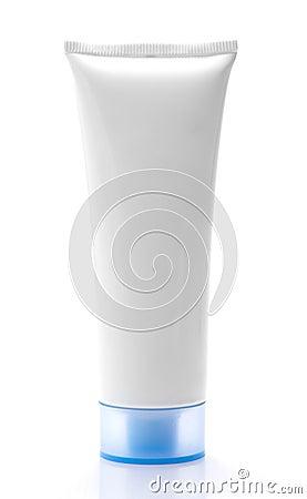 Blank White Cream Tube