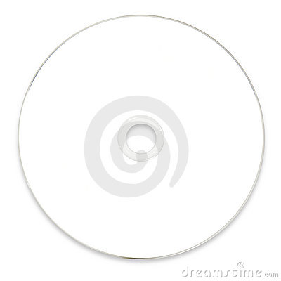Free Blank White DVD CD Stock Photography - 17051032