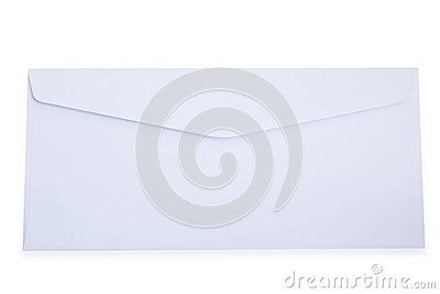 Blank White Envelope