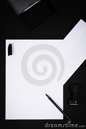 letter pad background