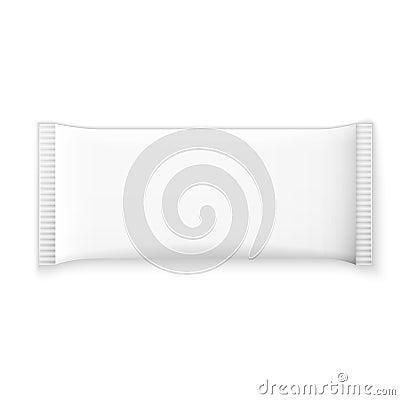 Free Blank White Plastic Sachet Royalty Free Stock Photos - 46484258