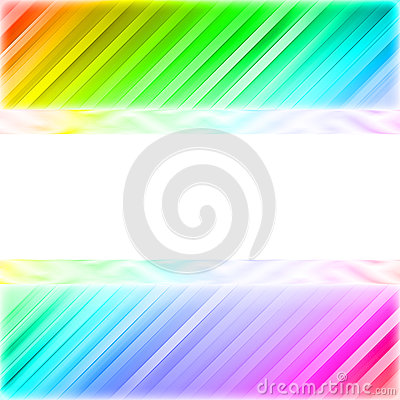 Blank white plate on the colorful background