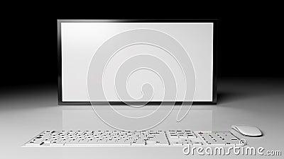 Blank widescreen