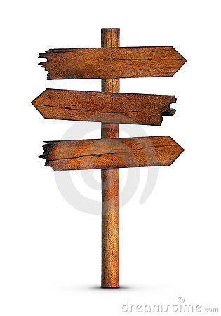 Blank Wooden Sign Post | www.pixshark.com - Images ...