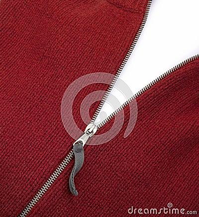 Blank zipper corner