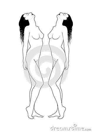 Blanke Frauen
