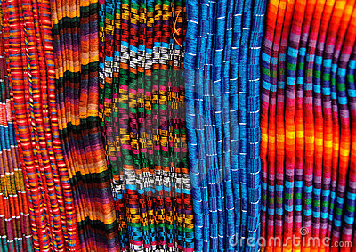 Blankets from Guatemala