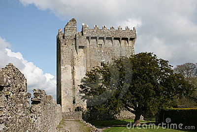 Blarney castle power, cork county, ireland