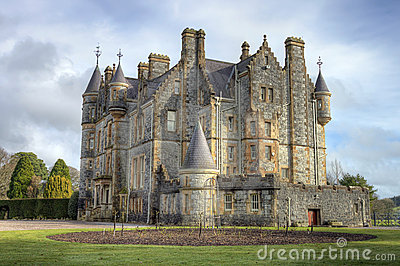 Blarney House, Ireland.