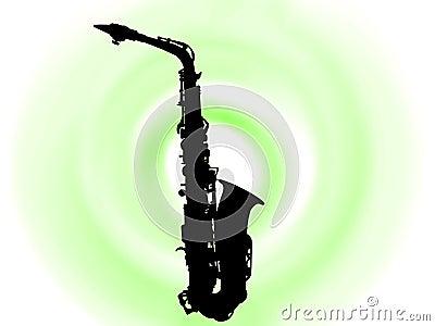 Blask saksofone