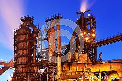 Blast furnace equipment