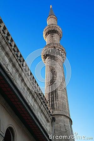 Blaue Moschee. Istanbul. Die Türkei.