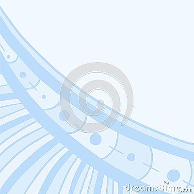 Blaue Tapete Vektor Abbildung - Bild: 60030970