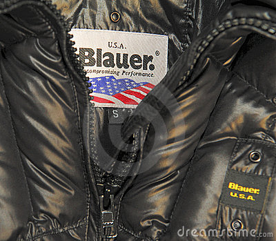 Blauer brand Editorial Photo