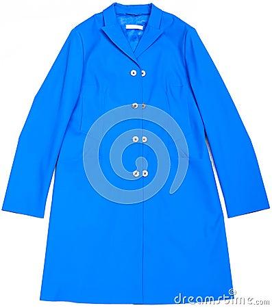 Blauer Mantel