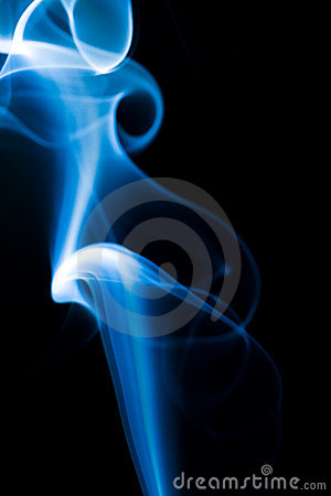 Blauer Rauch