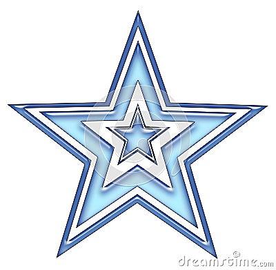blaue stern