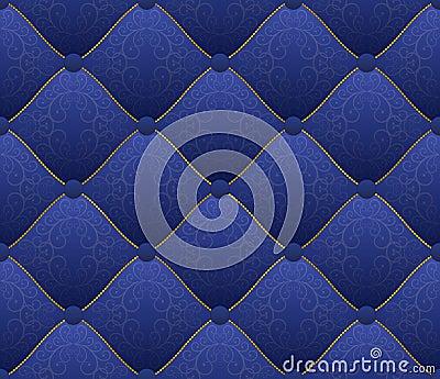 Blaues Gewebe
