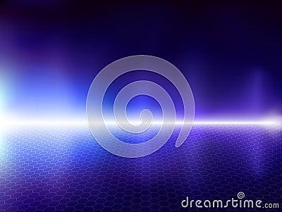 Blauwe computerachtergrond