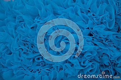 Blauwe geweven achtergrond