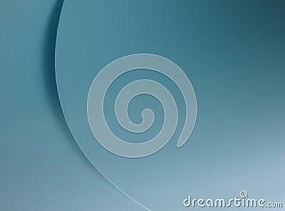 Blauwe krommen