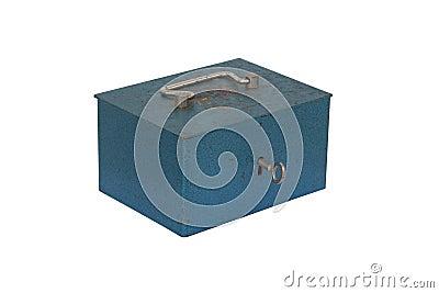 Blauwe moneybox