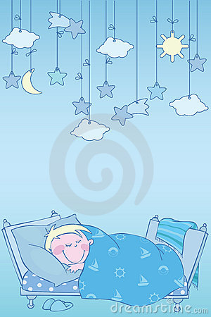 Blauwe nacht