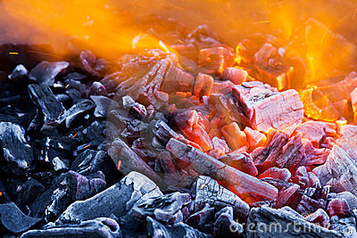 Blaze closeup