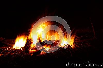 Blazing Bonfire