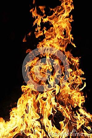 Free Blazing Fire Stock Photo - 12770880