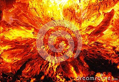 Blazing Fire Royalty Free Stock Photos Image 6682508