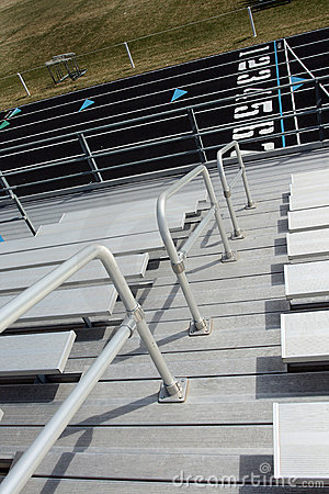 Bleachers at Track Field