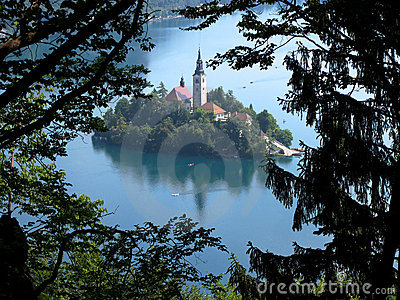 Bled Island, Lake Bled, Slovenia