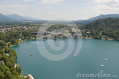 Bled and the lake