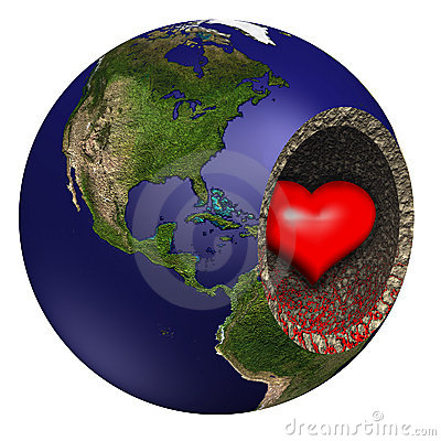 Bleeding Heart of Mother Earth