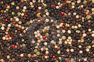 Blend of peppercorns