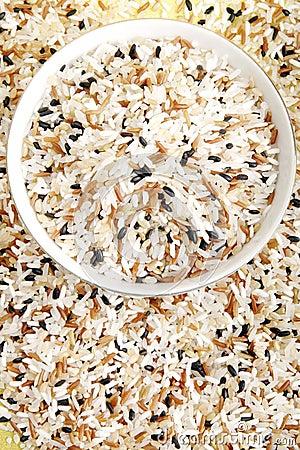 Blended rice