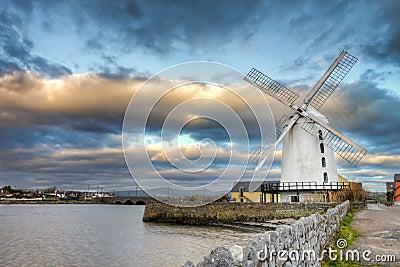 Blenerville windmill in Tralee  in Ireland.