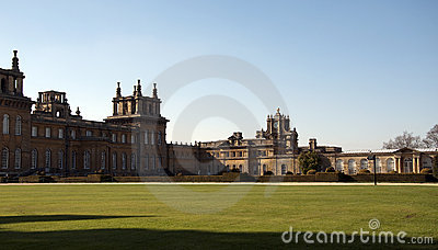 Blenheim Palace and grounds