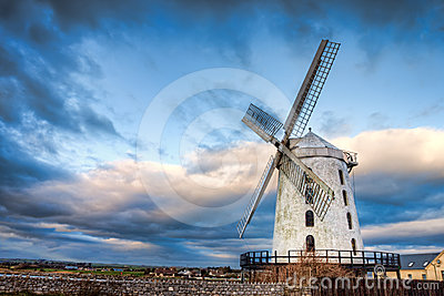 Blennerville Windmill  Co. Kerry - Ireland.