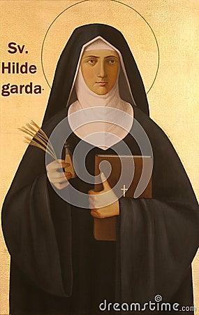 Free Blessed Hildegard Von Bingen Royalty Free Stock Image - 94690736