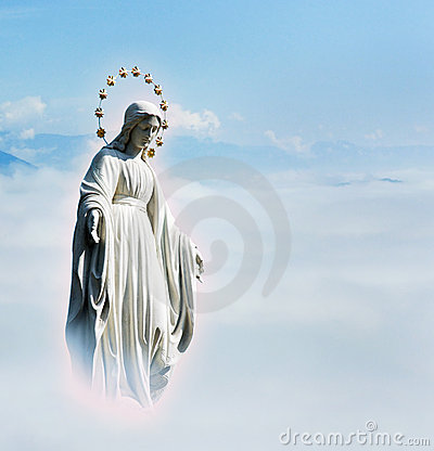 Free Blessed Virgin Mary Royalty Free Stock Image - 21811116