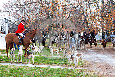 Blessing of the hounds Editorial Stock Photo