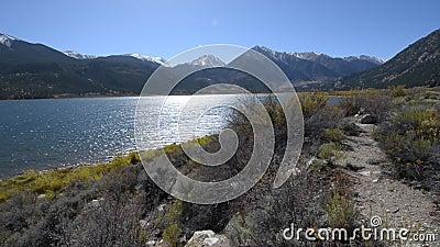 Bliźniaczy jeziora Kolorado słoneczny dzień