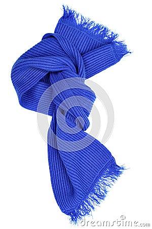 Blie woolen scarf