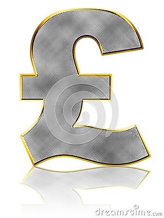 Bling Pound Symbol