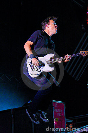 Blink 182 Editorial Stock Photo